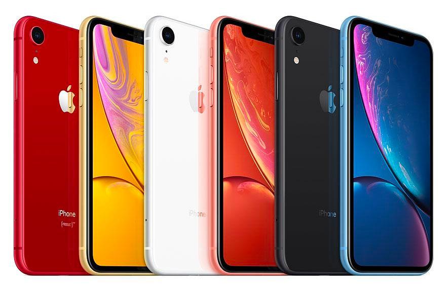 Todos los colores del iPhone XR