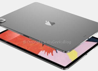 Imágenes generadas por ordenador del hipotético iPad Pro del 2020