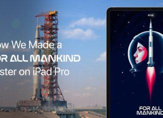 Como se hizo el poster de Para toda la Humanidad con un iPad