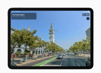 Look Around en los mapas de Apple