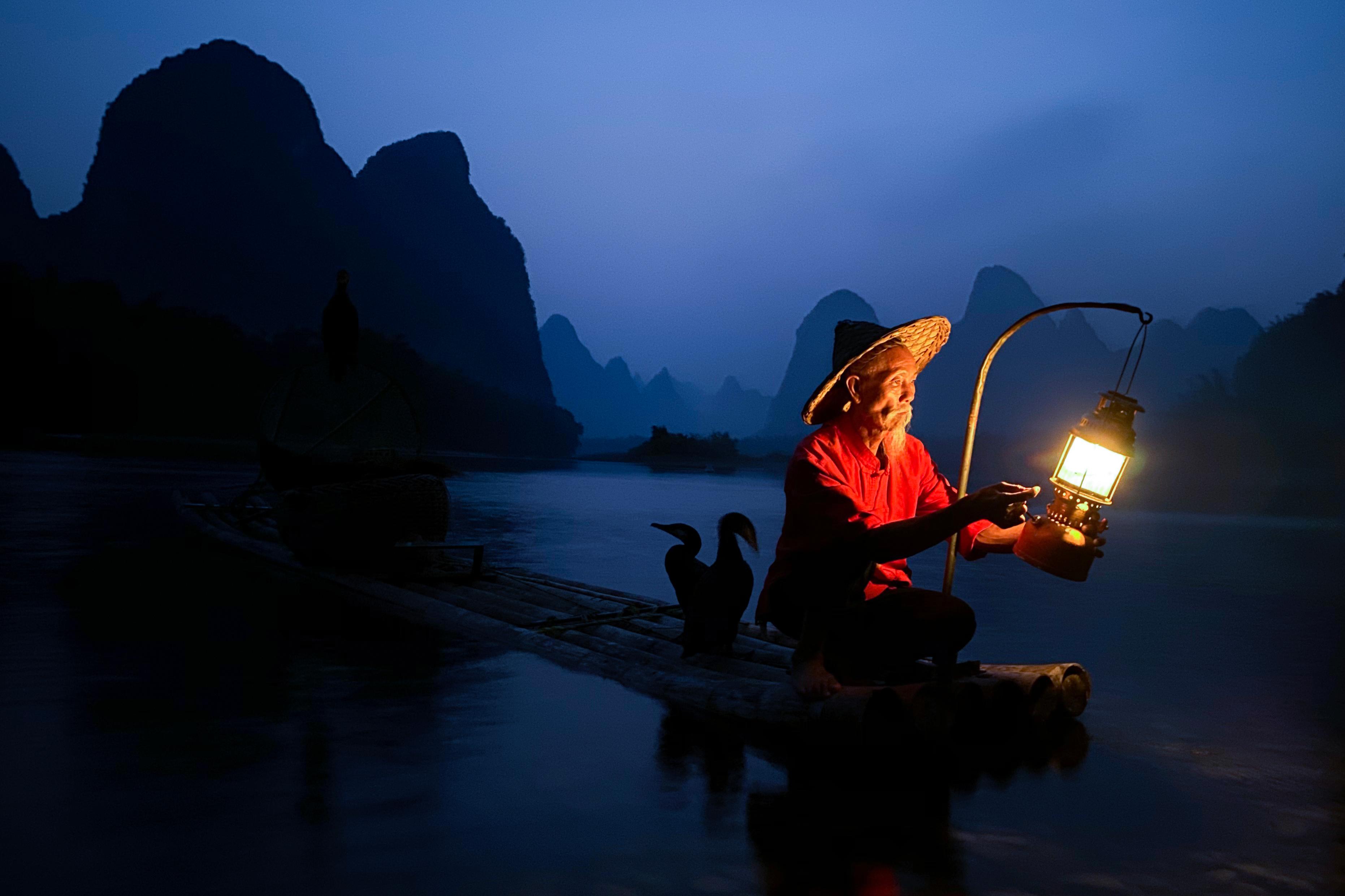 Concurso de fotografía nocturna. Ejemplo de Austin Mann