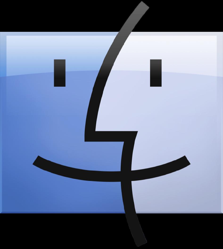 Icono de Finder de macOS