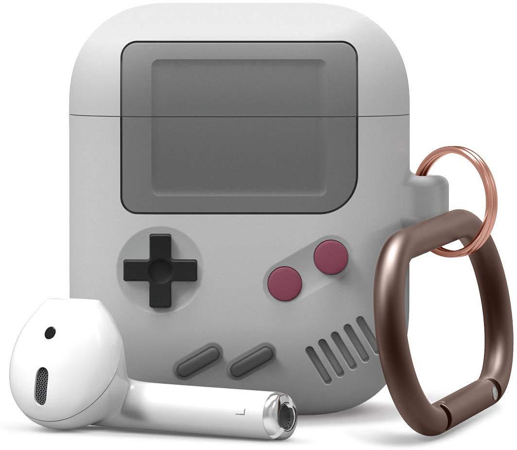 Funda para AirPods con estilo de GameBoy