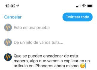 Creando un hilo en Twitter