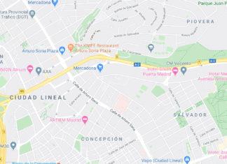 Mapa de Google Maps