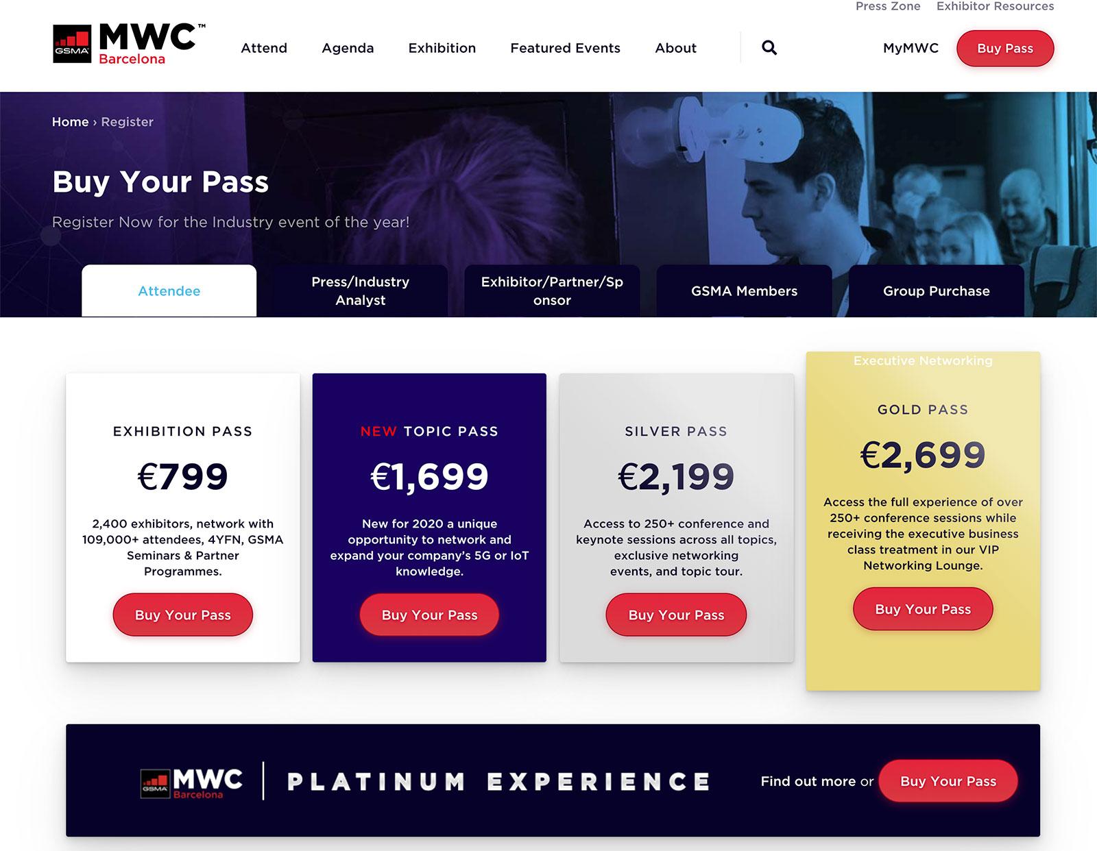 La MWC 2020 sigue vendiendo entradas