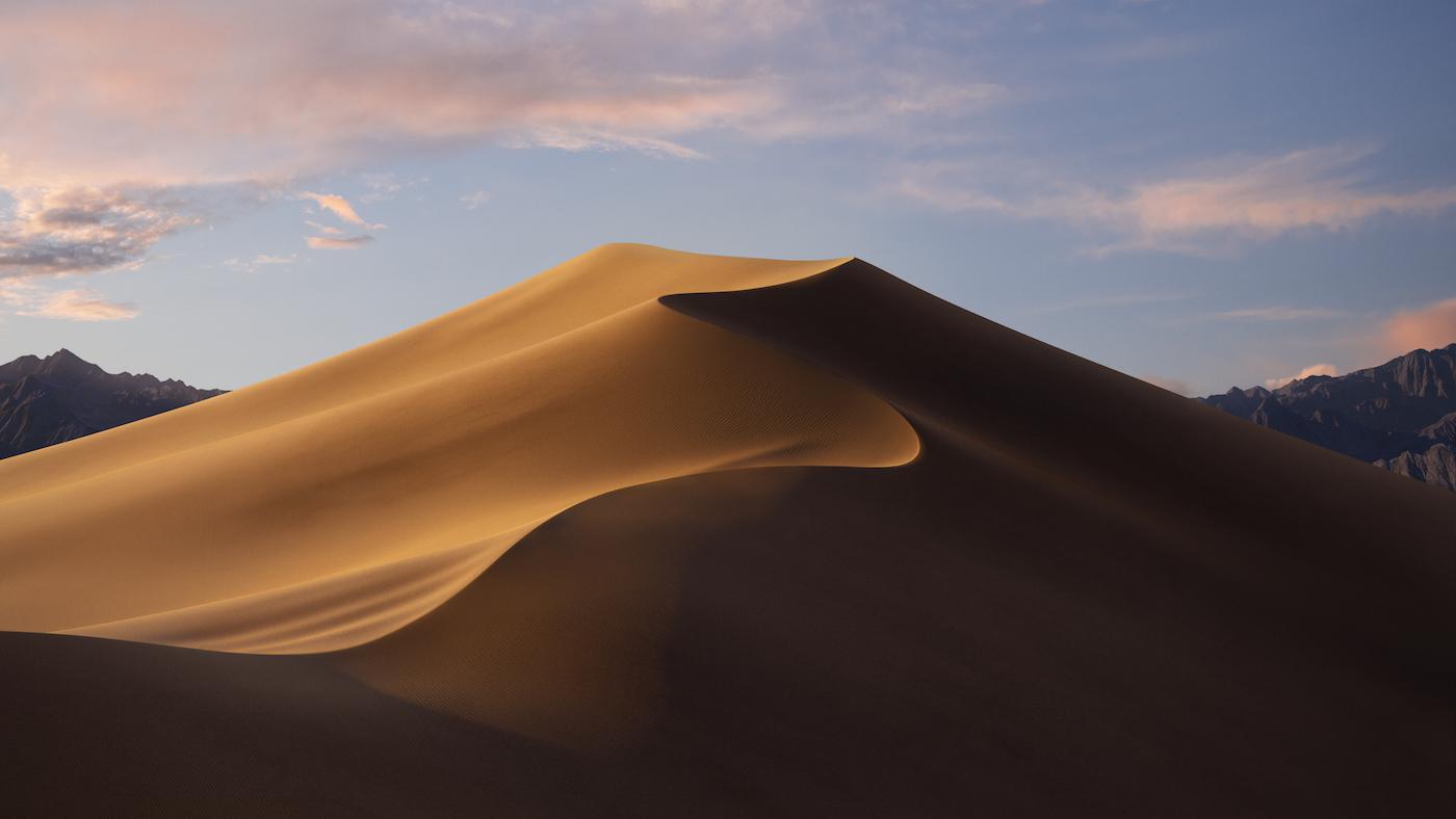 Fondo de pantalla de OS X 10.14 Mojave