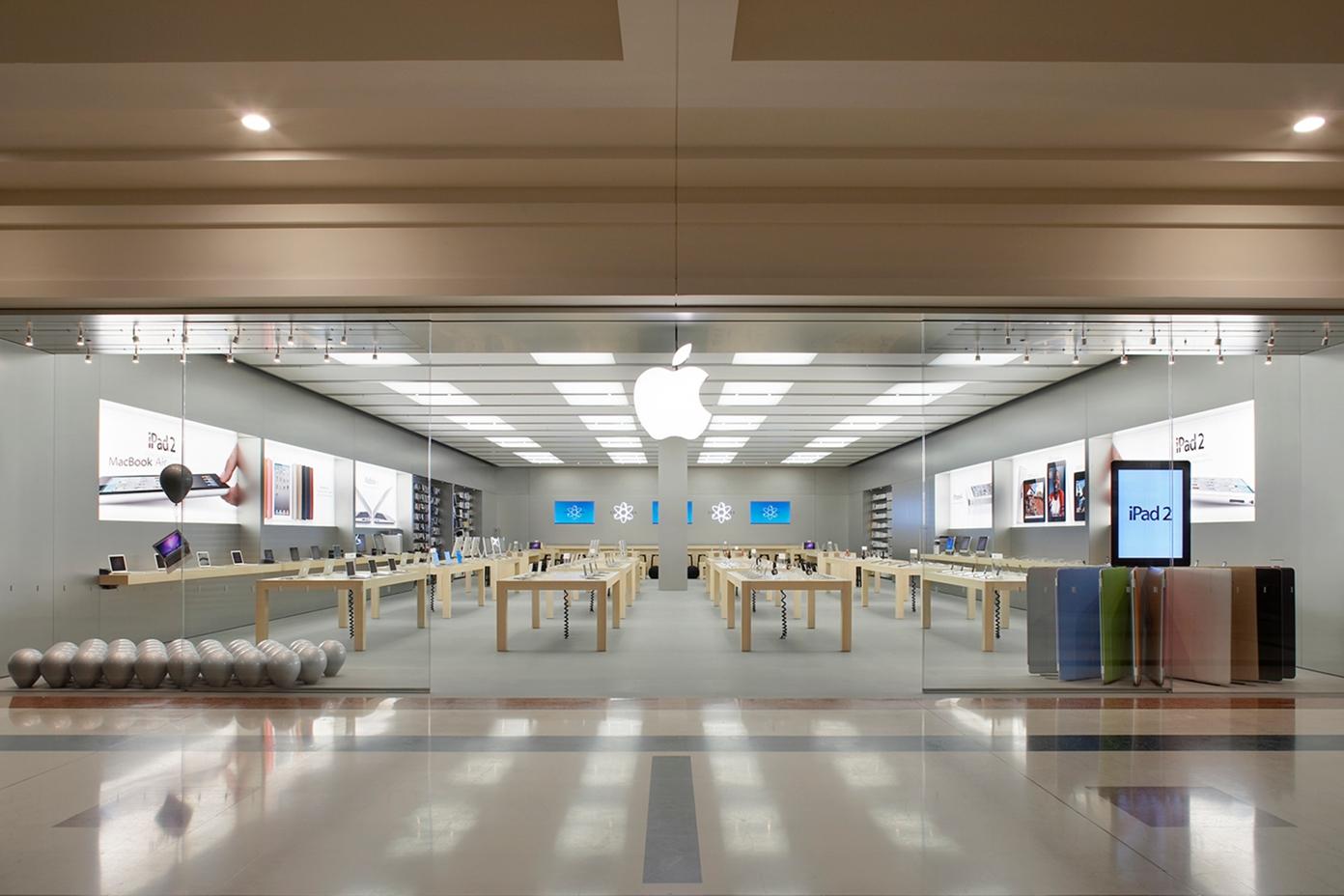 Apple Store italiana de Fiordaliso