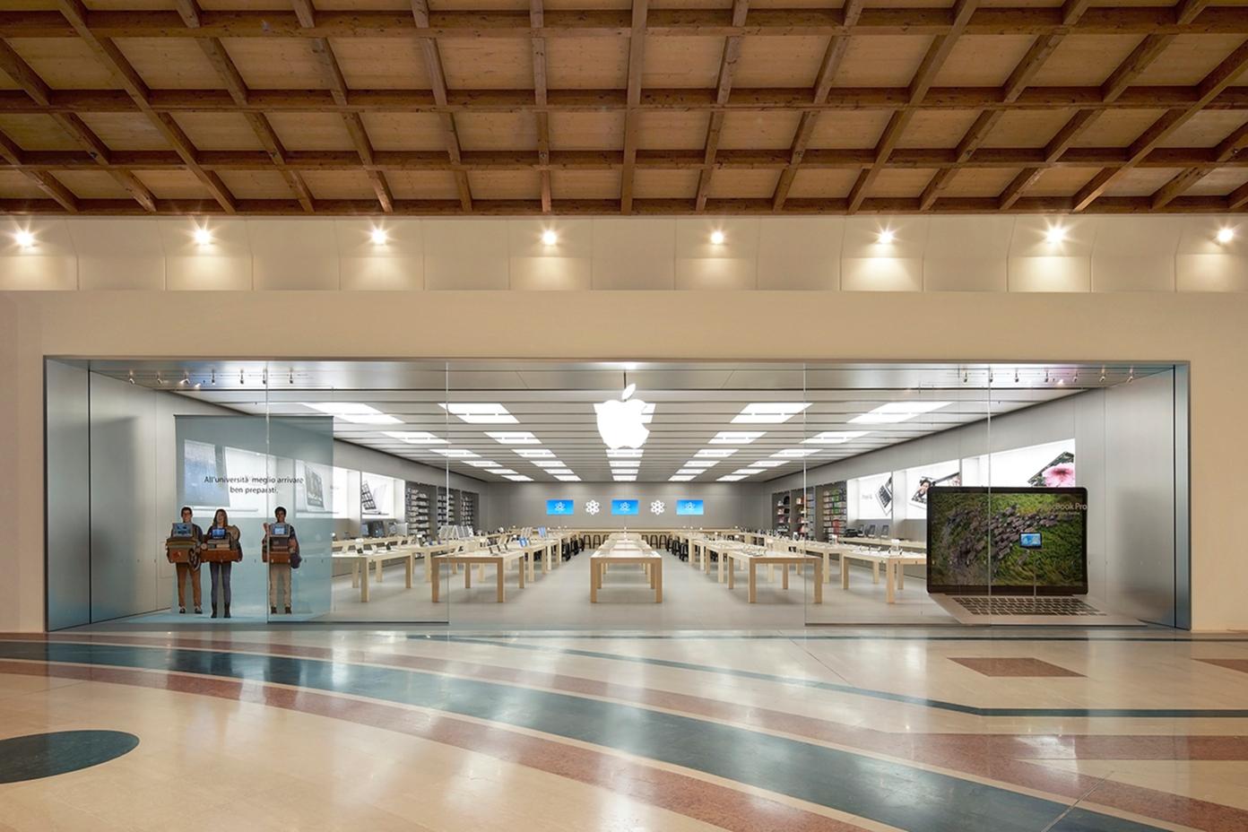 Apple Store italiana de il Leone