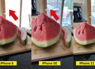 Comparación cámaras del iPhone SE, iPhone 8, iPhone 11 Pro