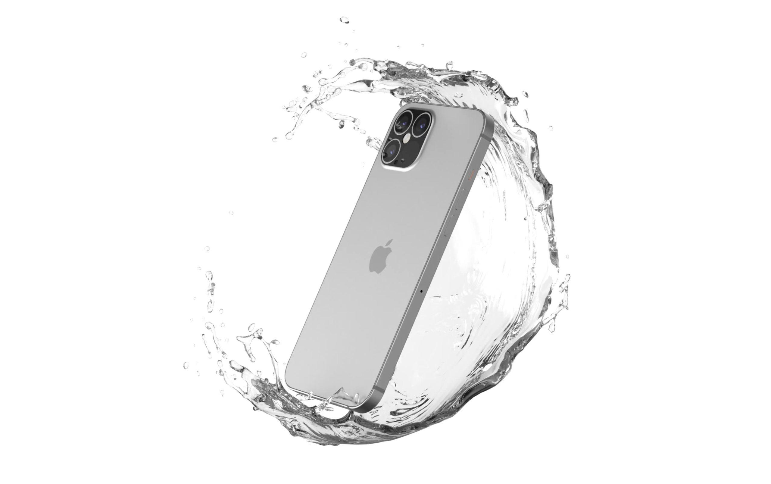 Imagen generada por ordenador de lo que podría ser el próximo iPhone 12