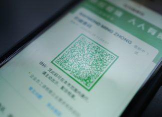 Código QR de salud en China