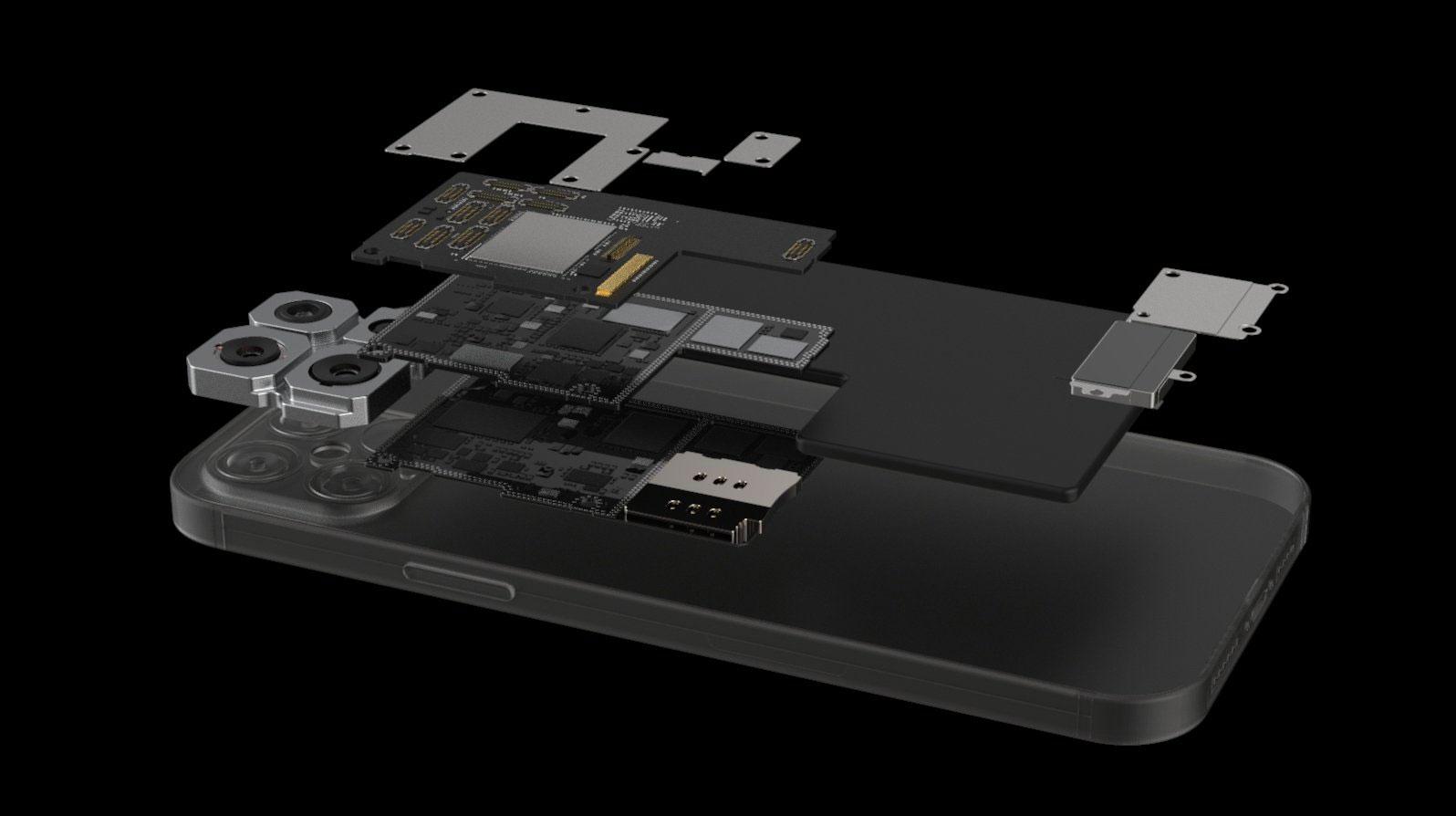 Concepto de diseño de iPhone 12