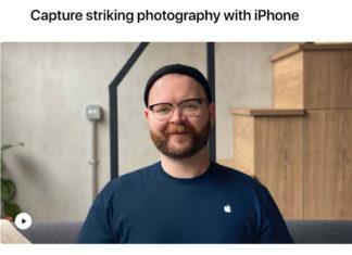 Uno de los vídeos que explica cómo hacer fotos más sorprendentes Uno de los vídeos que explica cómo hacer fotos más sorprendentes en Today at Apple versión casera