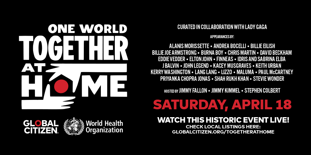 Concierto One World Together At Home