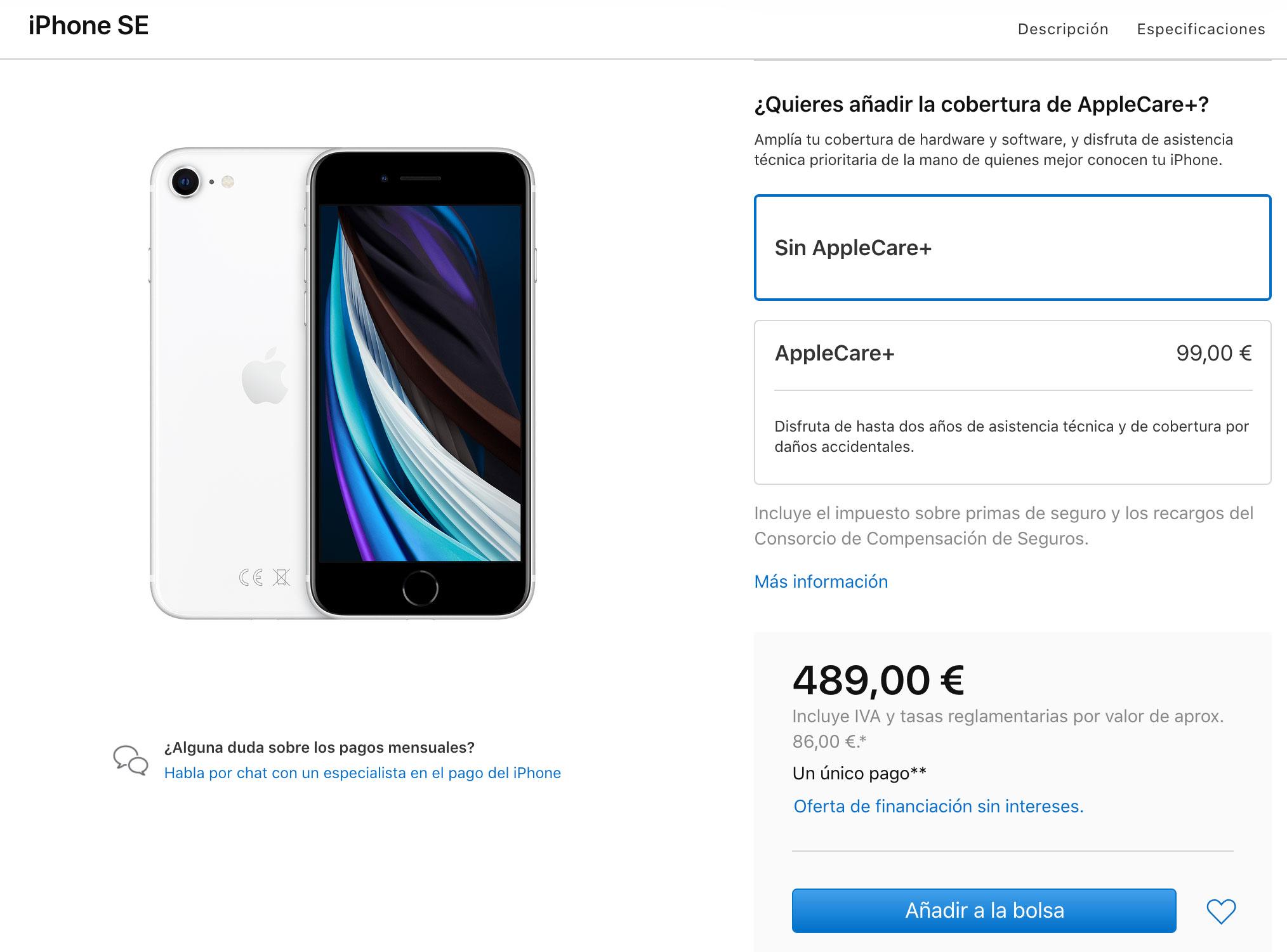 iPhone SE del 2020 ya a la venta