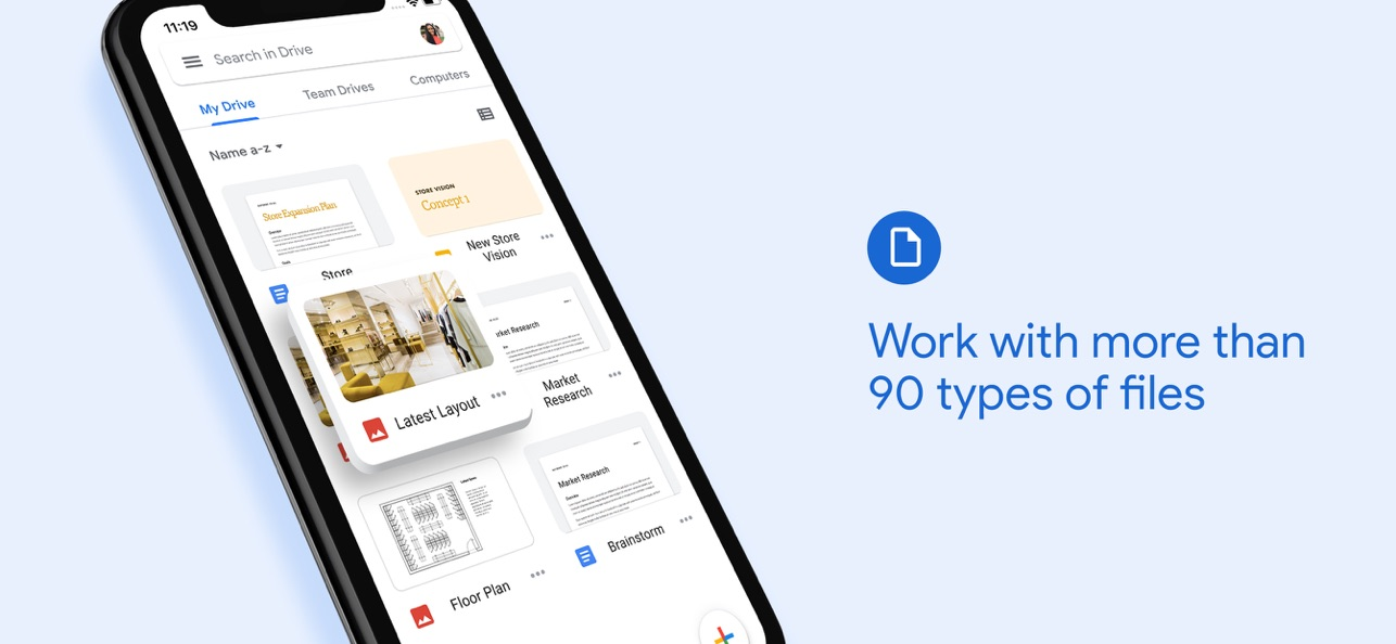 Google Drive para iOS