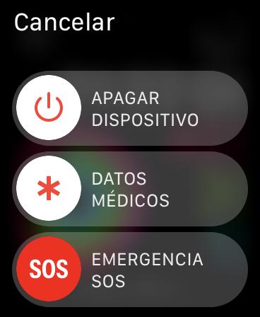 Llamadas de emergencia y datos médicos en el Apple Watch