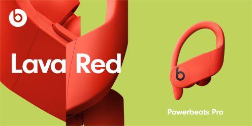 Powerbeats Pro en rojo