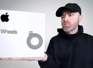 Unboxing de las ruedas del Mac Pro