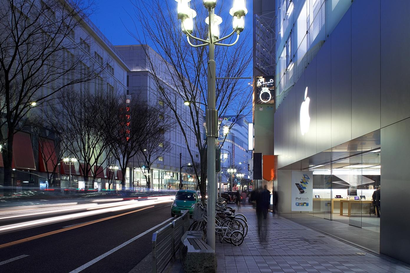 Apple Store de Sakae, en Nagoya