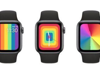Nuevas esferas del Día del orgullo LGBT en watchOS 6.2.5