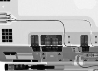 Teclado Magic Keyboard para iPad Pro, visto a rayos X