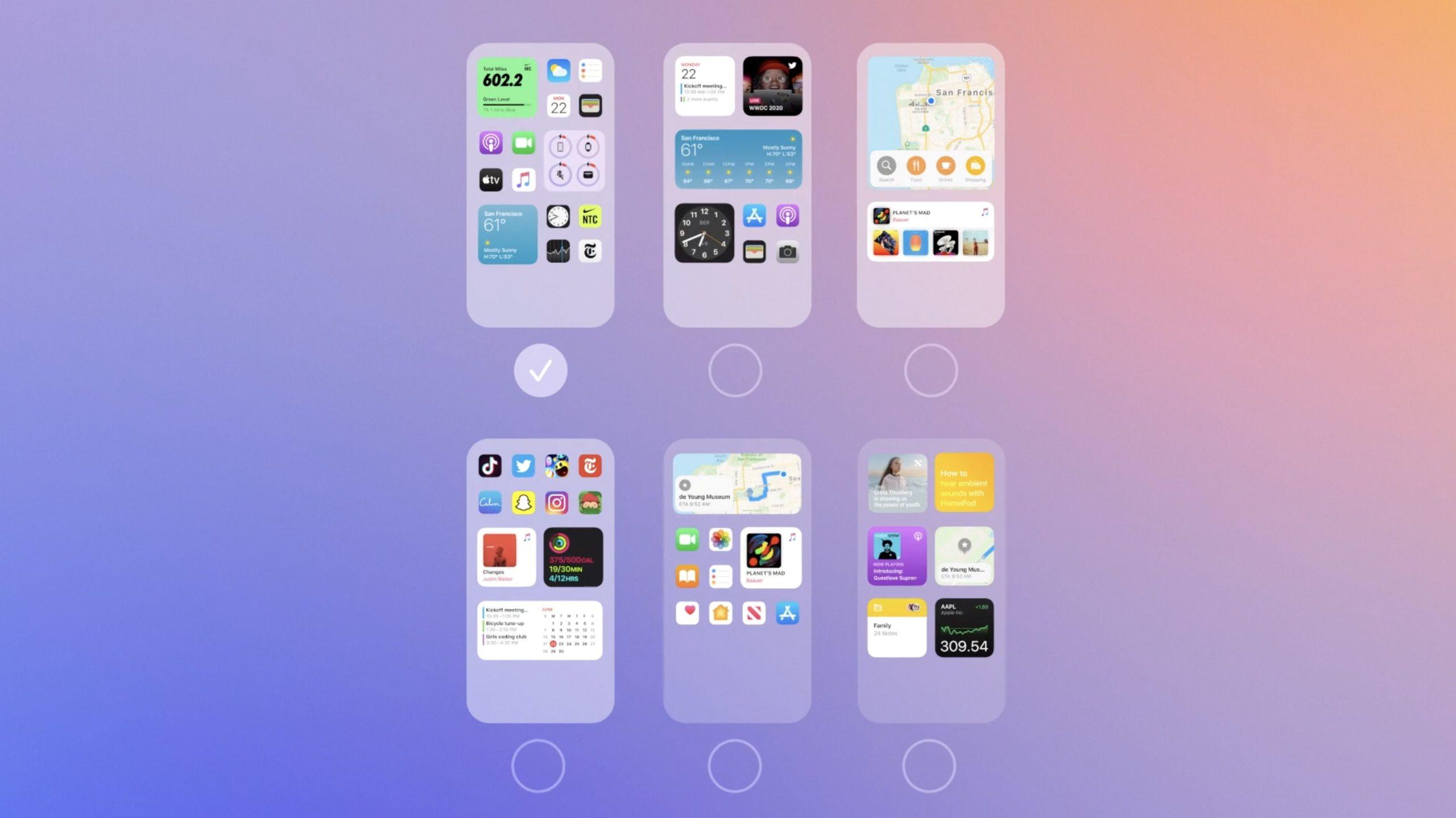 Configurando páginas visibles e invisibles en la pantalla principal de iOS 14