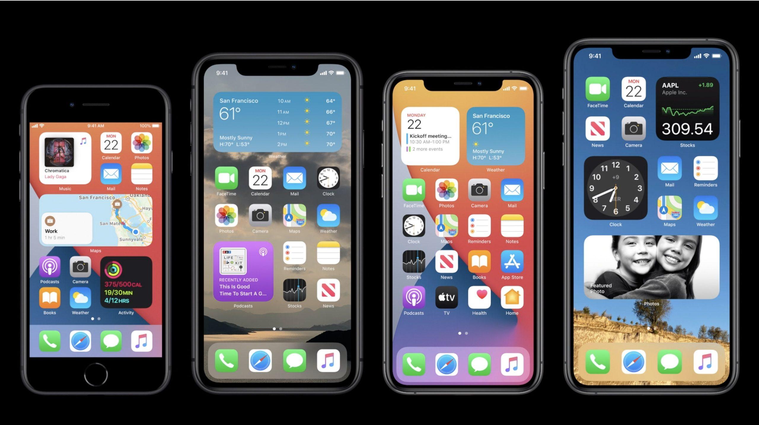 Widgets en iOS 14
