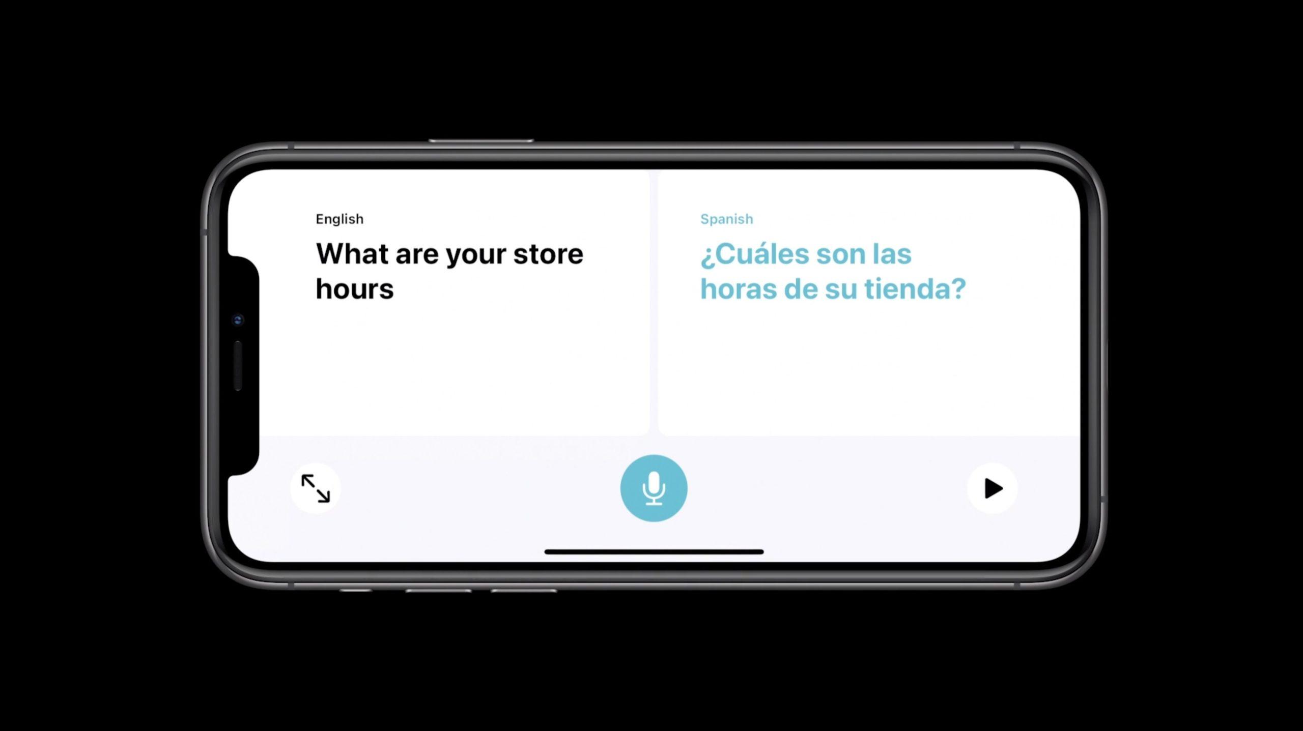 Traducción incorrecta de la App de Translate