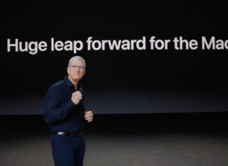 Tim Cook presentando la transición de x86 a ARM en la WWDC 2020