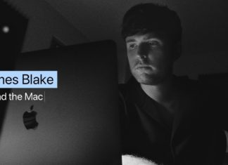 James Blake promocionando Mac
