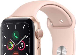 Apple Watch Series 5 dorado