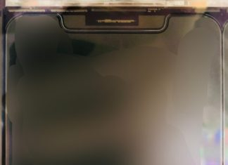 Supuesta pantalla del iPhone 12