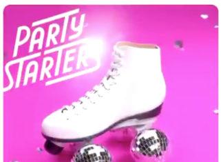 Animación en la lista Party Starters de Apple Music