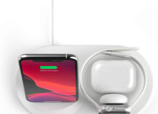 Plataforma de carga inalámbrica de Belkin
