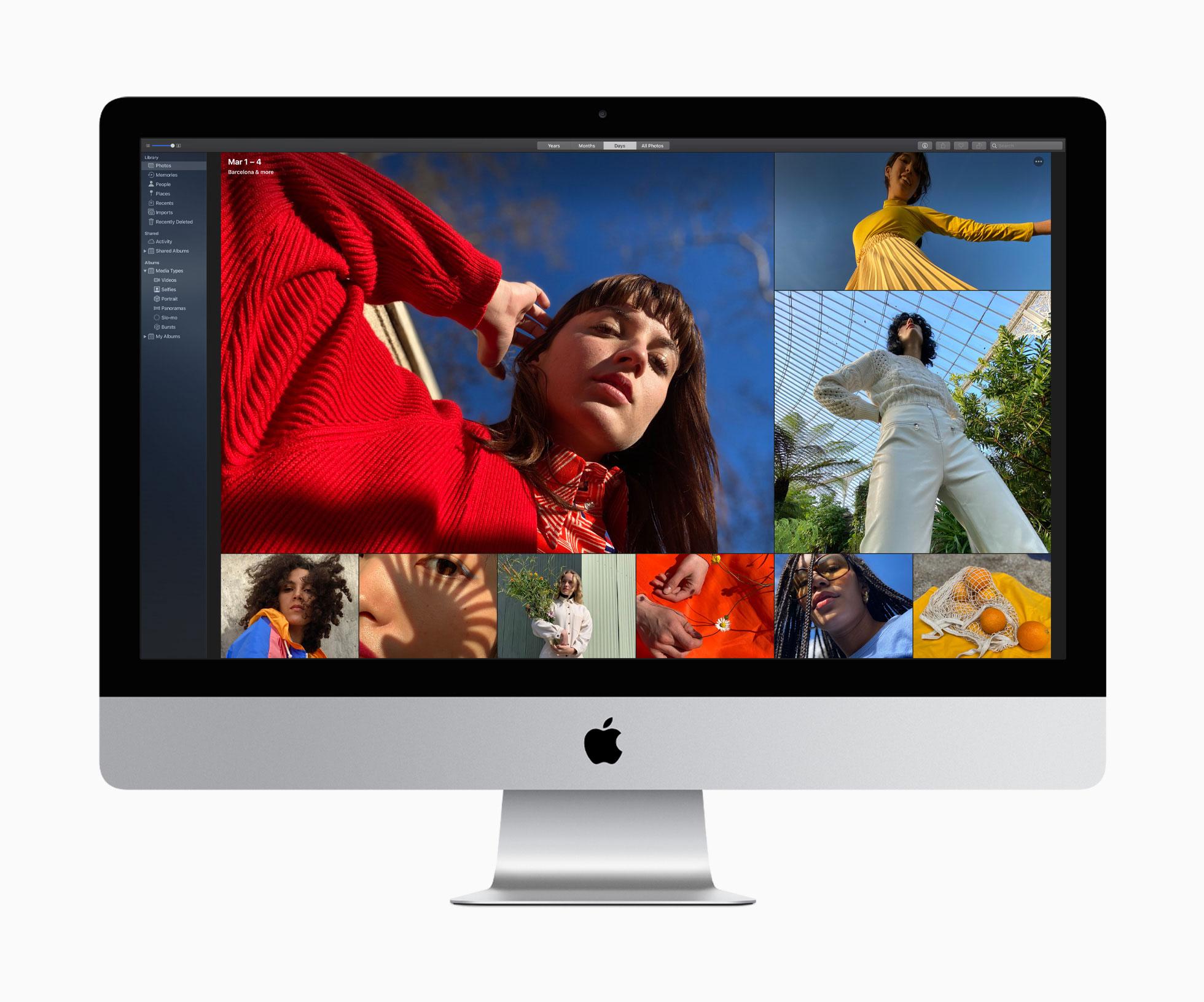 Nuevo iMac de 27 pulgadas de mediados de 2020