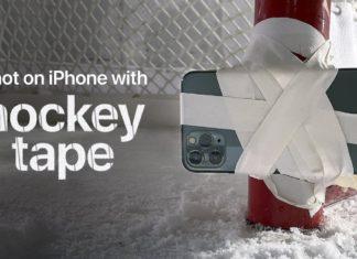 Anuncio de TV de hockey grabado con un iPhone 11