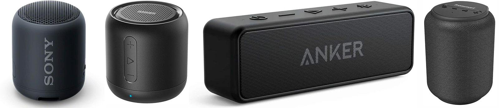 Altavoces Bluetooth externos