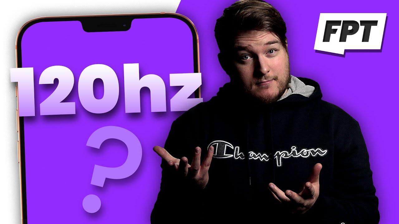 Jon Prosser pantalla a 120 Hz