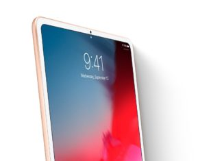 Concepto de diseño de iPad Air con pantalla Liquid Retina