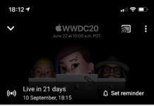 Test de Live stream de Apple para el 10 de septiembre