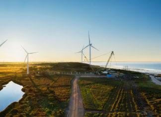 Aerogeneradores para producción de electricidad