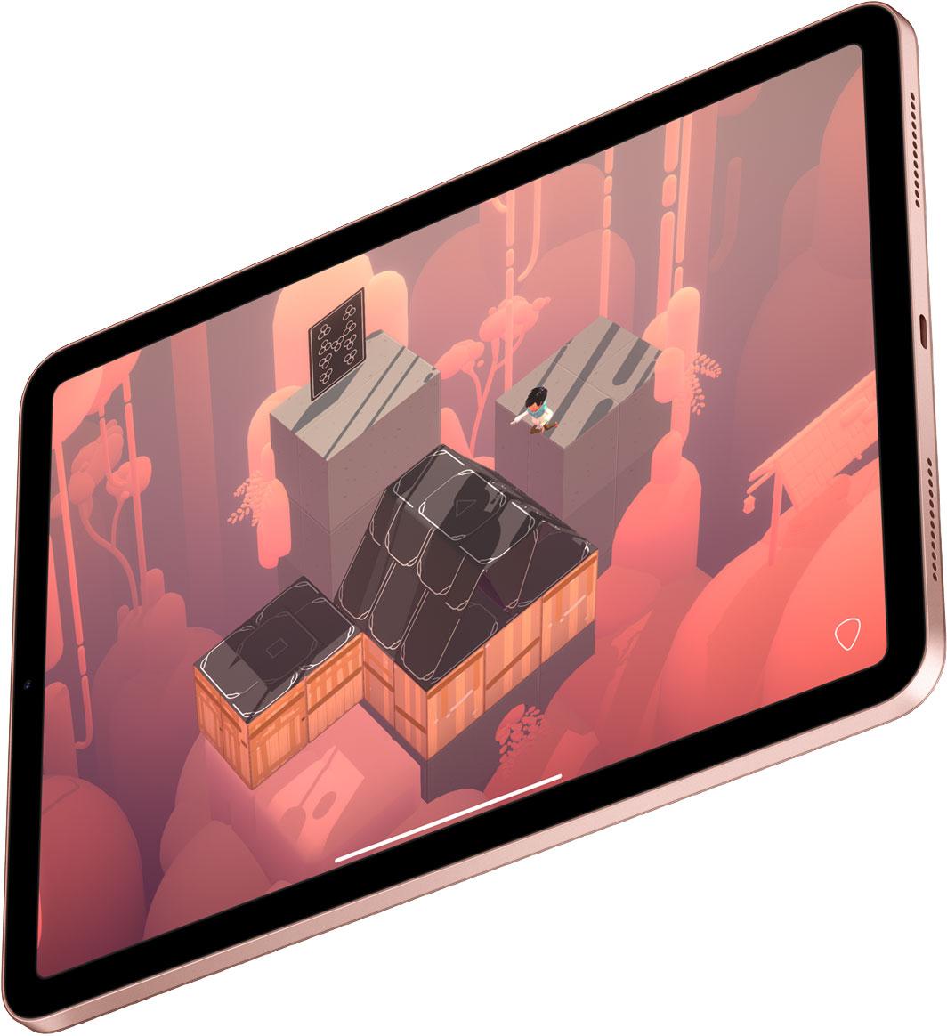 iPad Air 2020 en color oro rosado