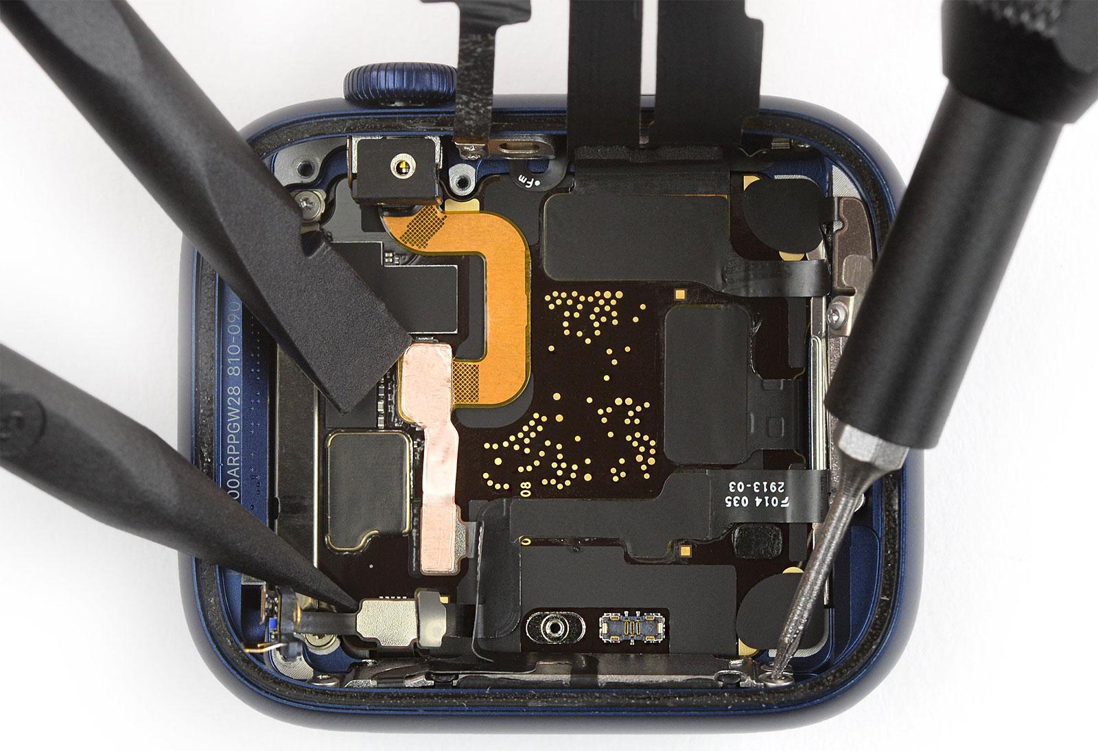 Apple Watch Series 6 por dentro