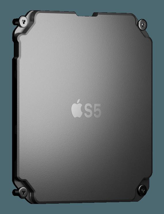 Chip S5 con CPU, GPU y RAM utilizado en el Apple Watch Series 5 y Apple Watch SE