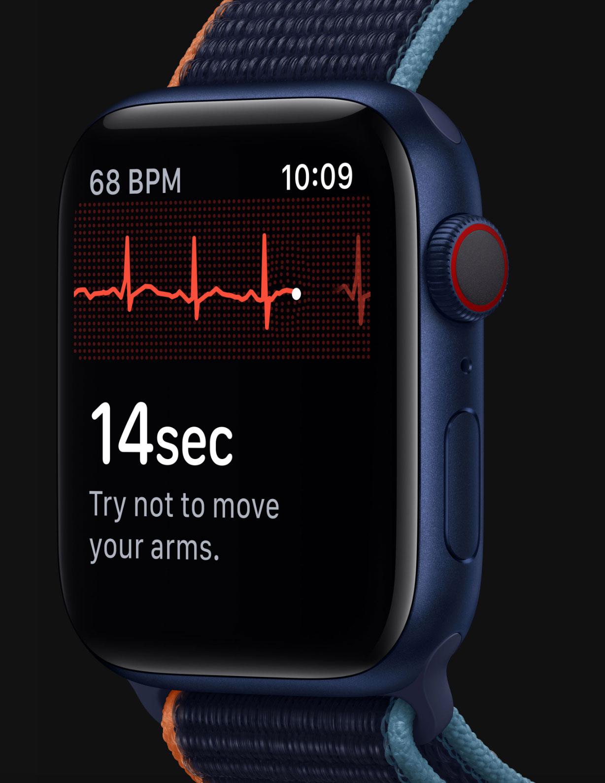 Apple Watch Series 6 en color azul