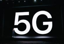 Conexiones 5G en el iPhone