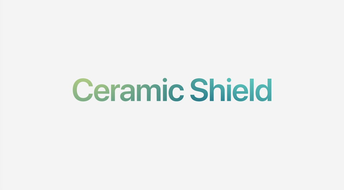 Cristal cerámico o Ceramic Shield, según lo llama Apple