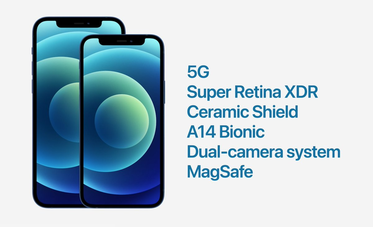 iPhone 12 e iPhone 12 mini